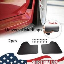 2PCS Universal Mud Flaps Splash Guards Front+Rear Combo Set Includes Hardware