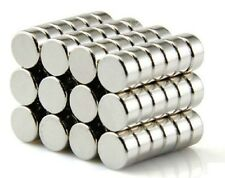 100PCS Strong N42 6mm x 3mm Rare Earth Neodymium Cylinder Magnet