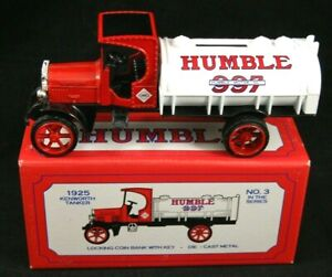 1925 HUMBLE Kenworth Tanker Truck Bank  #3 In Series  ERTL # 3839 MIB