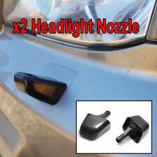 x2 Headlight Headlamp Washer Jet Nozzle For Nissan X-Trail Xtrail T31 2007-2013