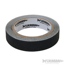 FIXMAN 190274 Anti Slip Tape 24mm x 5m Black grip safety antislip grippy hazard
