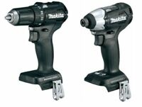 Makita 18 Volt Brushless Driver Drill 1/2 XFD11ZB & XDT15ZB Impact Lithium Ion