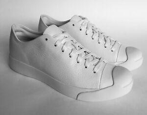 Chaussures Converse X Jack Purcell Modern OX - 155021C - Blanc en Cuir