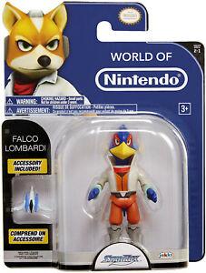 Star Fox Falco Lombardi Action Figure, 4 Inches Tall, Brand New Original !!