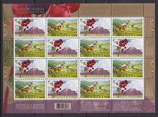 CANADA #2105-2106 50¢ Biosphere Reserves Sheet MNH
