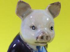 Pig BESWICK BEATRIX POTTER'S PIGLING BLAND FIGURINE F. Warne Pig Statue