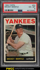 1964 Topps Mickey Mantle #50 PSA 6 EXMT (PWCC)