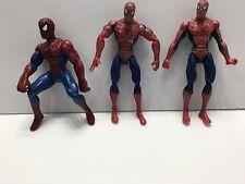 Spiderman Lot Of 3, 5� Figures 2006, 2007 Hasbro, 1 Unbranded