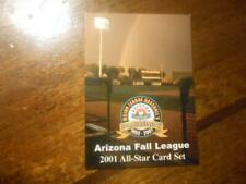 2001 ARIZONA FALL LEAGUE ALL STARS Single Cards YOU PICK FROM LIST $1 each OBO