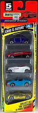 Matchbox Cars of the Future 5 Pack 1996 New Vw Beetle, Ford Mustang, Audi