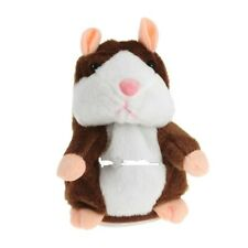 Electric Talking Plush Cartoon Hamster Interesting Kids Interactive Toys Gifts