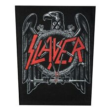 Xlg Slayer Eagle In The Abyss Back Patch Thrash Metal Jacket Sew On Applique