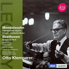 Mendelssohn & Beethoven-Otto Klemperer/CD-come nuovo
