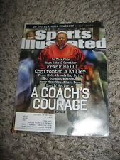 """FRANK HALL - Sports Illustrated Magazine JUNE 2013 """"CONFRONTING A KILLER"""""""