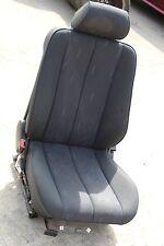 Mercedes W210 E Klasse Fahrersitz teilelektrisch Stoff schwarz vorne links
