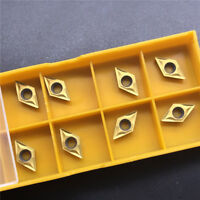 DCMT070204 UE6020 DCMT21.51 carbide inserts lathe turning inserts CNC TOOL 10Pcs
