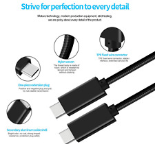 USB C 3.1 Cable Gen2 Type C Cable Fast Charging 4K 10GB/S 100W for macbook 3.3ft