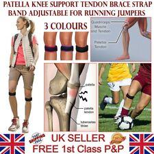 2x Adjustable Patella Jumper's Knee Brace Support Strap Tendonitis Pain Running