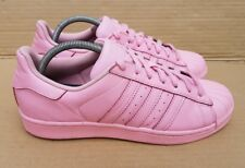 ADIDAS SUPERSTAR PHARRELL WILLIAMS SHELL TOE TRAINERS SIZE 7 UK RARE PALE PINK