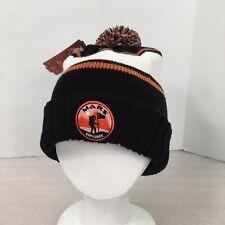 Mars Explorer Knit Beanie Cap American Needle One Size Multi-Striped Pom Pom Hat