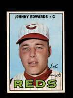 1967 TOPPS #202 JOHNNY EDWARDS NM REDS  *XR23626