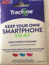 Tracfone Byop Bring Your Own Phone Sim Card 3/1 Kit Gsm new