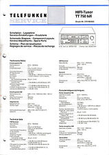 Service Manual-Anleitung für Telefunken TT 750