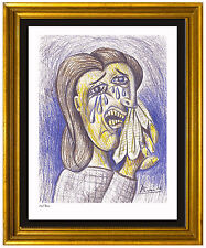 "Pablo Picasso Signed/Hand-Numbered Ltd Ed ""Weeping Woman II"" Litho (unframed)"