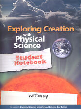 Apologia Exploring Creation with Physical Science Student Notebook