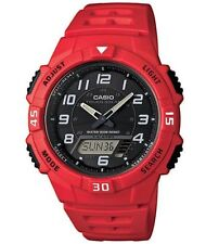 Casio Collection Mens Watch Solar ana-digi 5 Day Alarms AQ-S800W-4BVEF