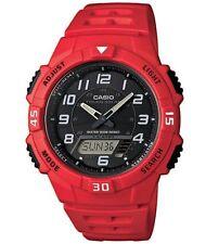 Reloj Para hombres Colección Casio Solar Ana-digi 5 alarmas día AQ-S800W -4 BVEF