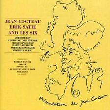 Cocteau Satie and Les Six [CD]