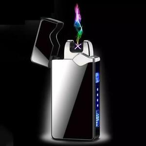 Electric Rechargeable Windproof Plasma Arc Flameless Candle Lighters With hook