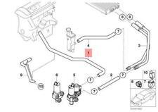 BMW E46 Cabrio Coupe Zusätzlich Wasserpumpe Zulaufschlauch 6902683 64216902683