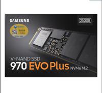 Samsung 970 EVO PLus 250GB 500GB 1TB Internal SSD PCI Express  NVMe m.2 2280 SSD