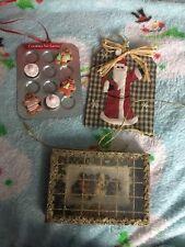 christmas decorations Ornaments Antique Vintage Unique Set