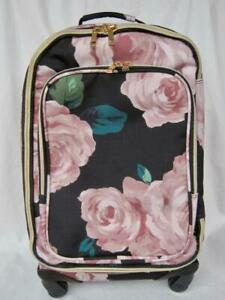 Pottery Barn Teen Bed of Roses Emily & Merritt Carryon Spinner NWOT Luggage PBT