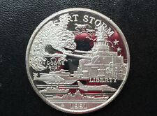 1991 New Queensland Mint Battleship USS Missouri $25 Silver Coin P2404