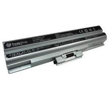 AKKU für Sony Vaio VGN-SR43 VGN-SR45 VGN-SR46 6600mAh silber
