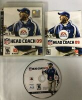 NFL Head Coach 09 (Sony PlayStation 3, 2008) PS3 TESTED