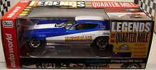 AUTO WORLD LEGENDS OF THE QUARTER MILE 1:18 SCALE HAWAIIAN 1971 CHARGER DRAG CAR