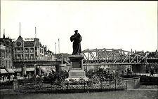 ROTTERDAM Holland Briefkaart ~1900/10 Denkmal Erasmus Brücke Niederlande alte AK