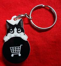 Hangover Felix-NESTLE PURINA-Shopping Trolley Chip/TRIGGER-Keyring