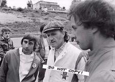 7x5 fotografia, TONY BRISE/Graham Hill/Ray Brimble 'Ritratto 1975 GP STAGIONE