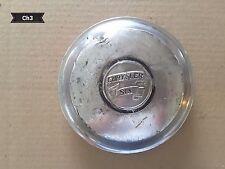 Chrysler Six Dog Dish Hubcap, Vintage, Automobila