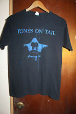 Tones on Tail Men's Black T Shirt Size Small Anvil Post Punk Gothic Rock