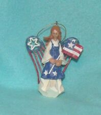 American Angel Acents Patriotic Ornament by Roman Inc. - #71383