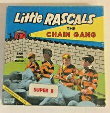 Vintage Little Rascals The Chain Gang Super 8 MM Movie Film #232 Ken Films Inc