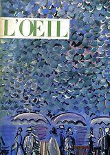 L'OEIL REVUE D'ART N. 91-92 MAI JUILLET-AOUT 1962