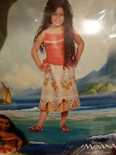 NIP Disney Moana Costume Childs Size M